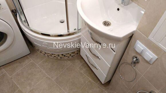 Правильный ремонт ванной комнаты и туалета